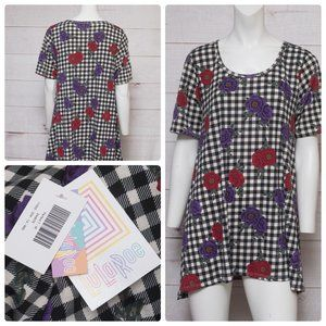 Lularoe MEDIUM Perfect T Roses New With Tags